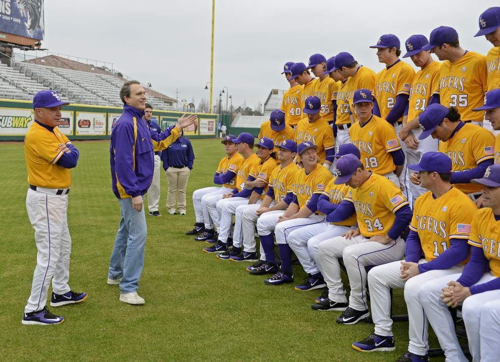 LSU sets its pitching rotation for its weekend series against Kansas _lowres