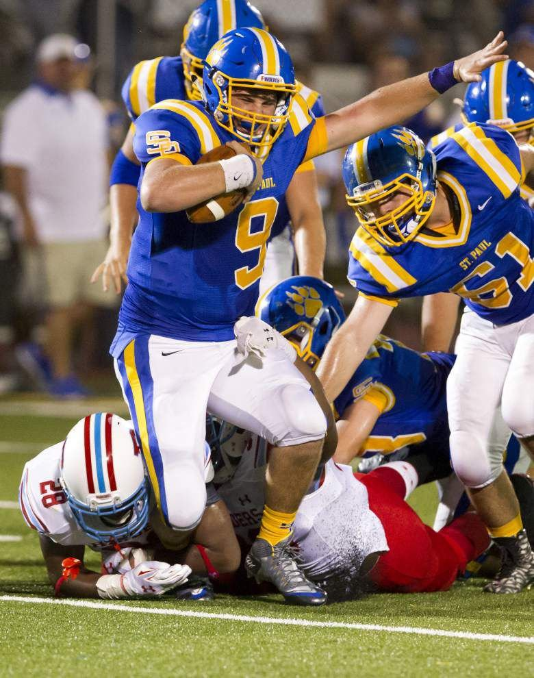 District 6-5A unbeatens Mandeville, St. Paul's clash Friday _lowres