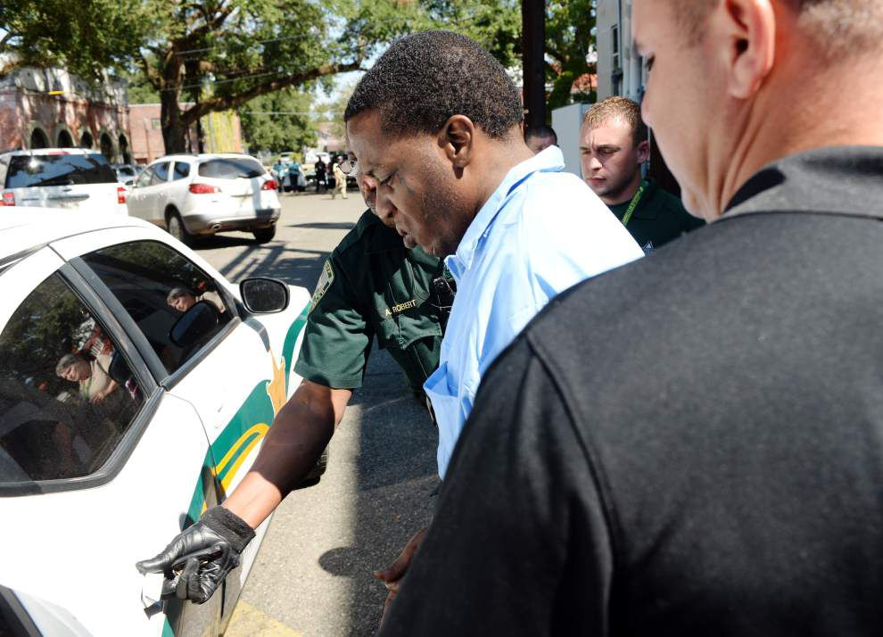 St. Landry man makes first court appearance since killings of woman, Sunset police officer _lowres