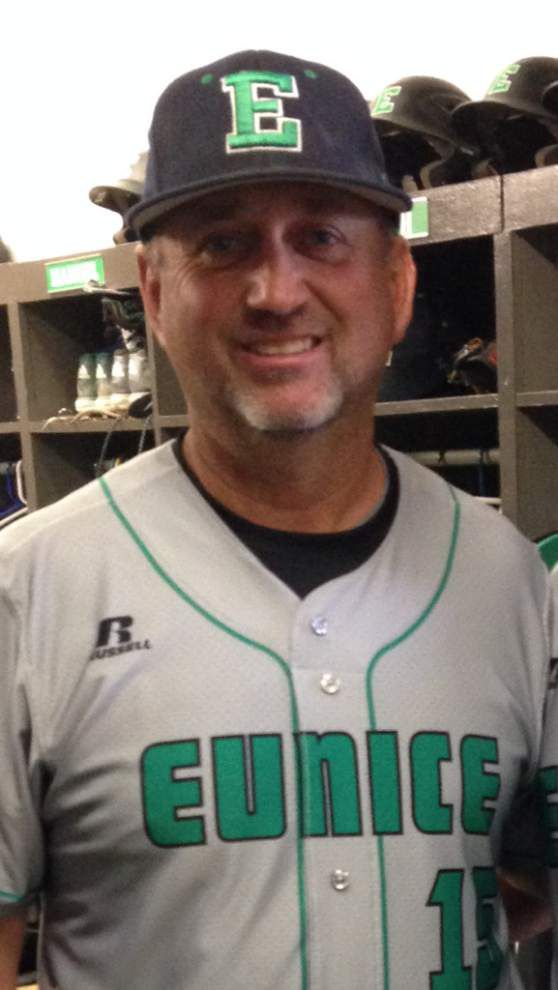 Eunice baseball coach Scott Phillips surprised by party after he collects 500th win _lowres