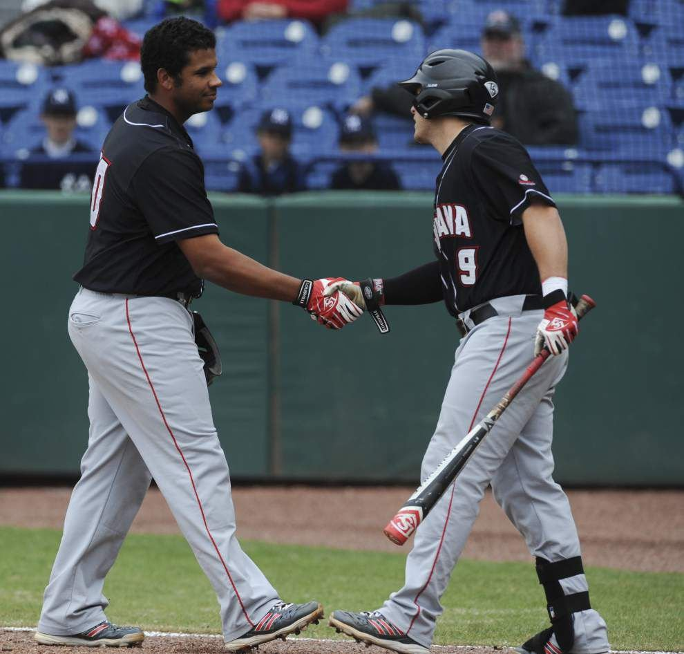 UL-Lafayette baseball team's vocal veterans lead the way _lowres