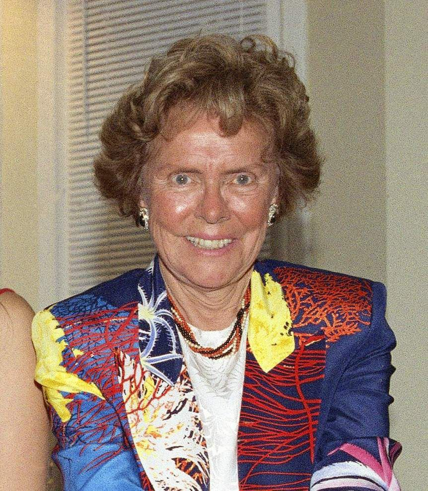 Eileen Ford, founder of Ford Model Agency, dies _lowres