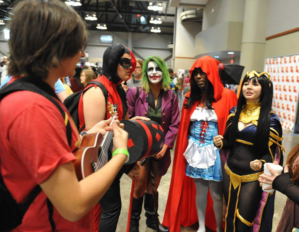 Photos: Captain America to the Joker, cosplayers and comic book fans attend Lafayette's Comic Con event _lowres