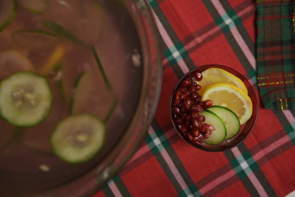 Pomegranate, Cucumber, Lemon Water _lowres