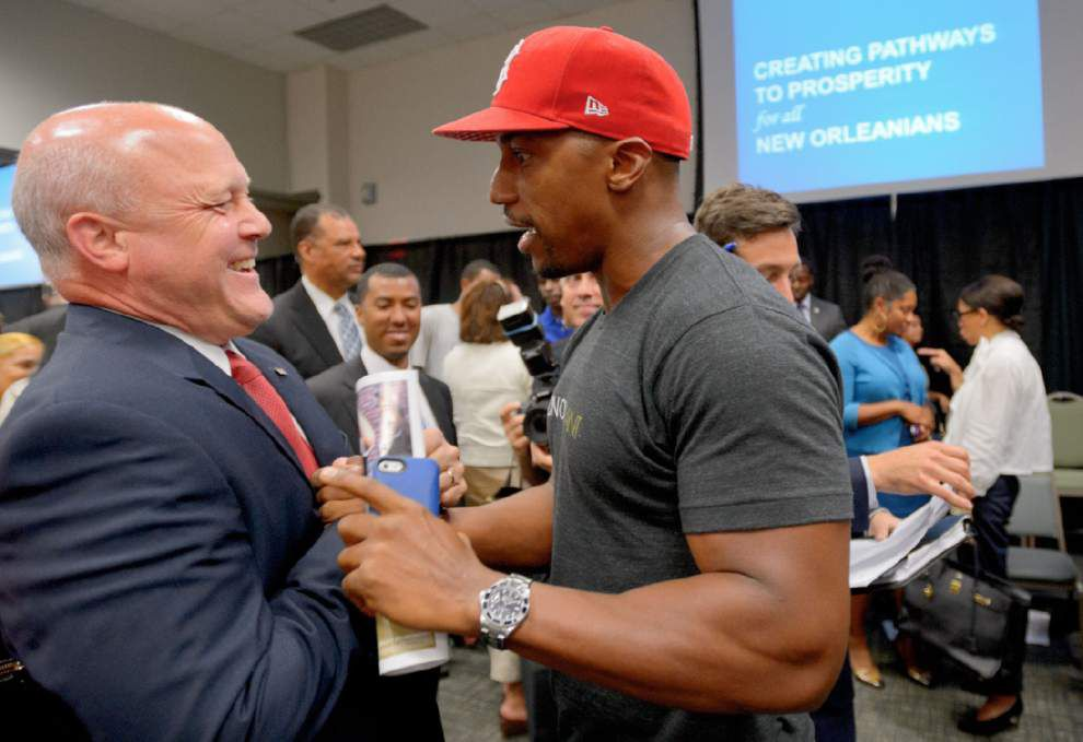 Landrieu launches effort to help unemployed black men find jobs _lowres