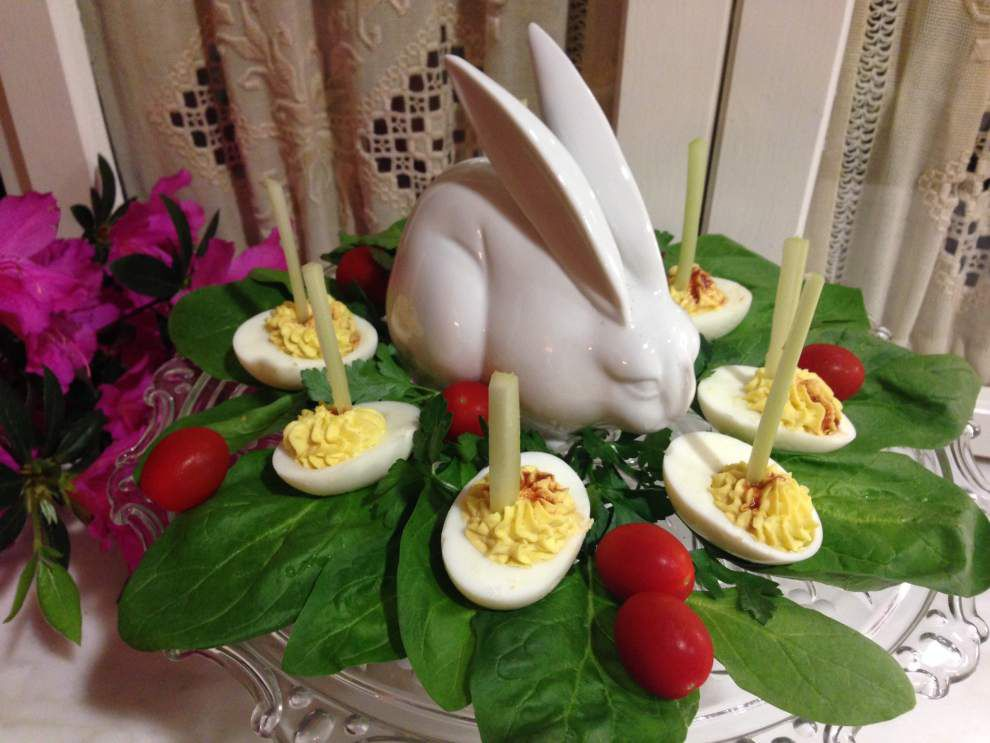 Gourmet Galley: Deviled or dyed, eggs fill the bill _lowres