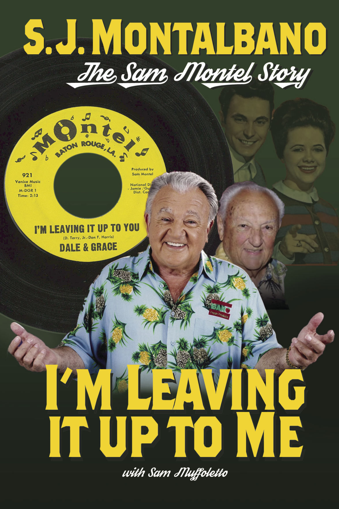 'I'm Leaving It Up To Me' book cover