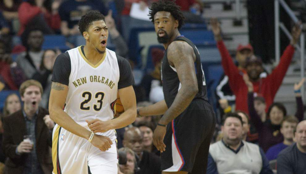 Pelicans stand pat with starting lineup, lose late lead to Clippers _lowres