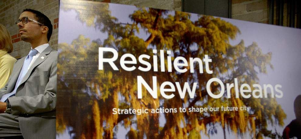 New Orleans Mayor Mitch Landrieu releases 'Resiliency' strategy for the city's next disasters _lowres
