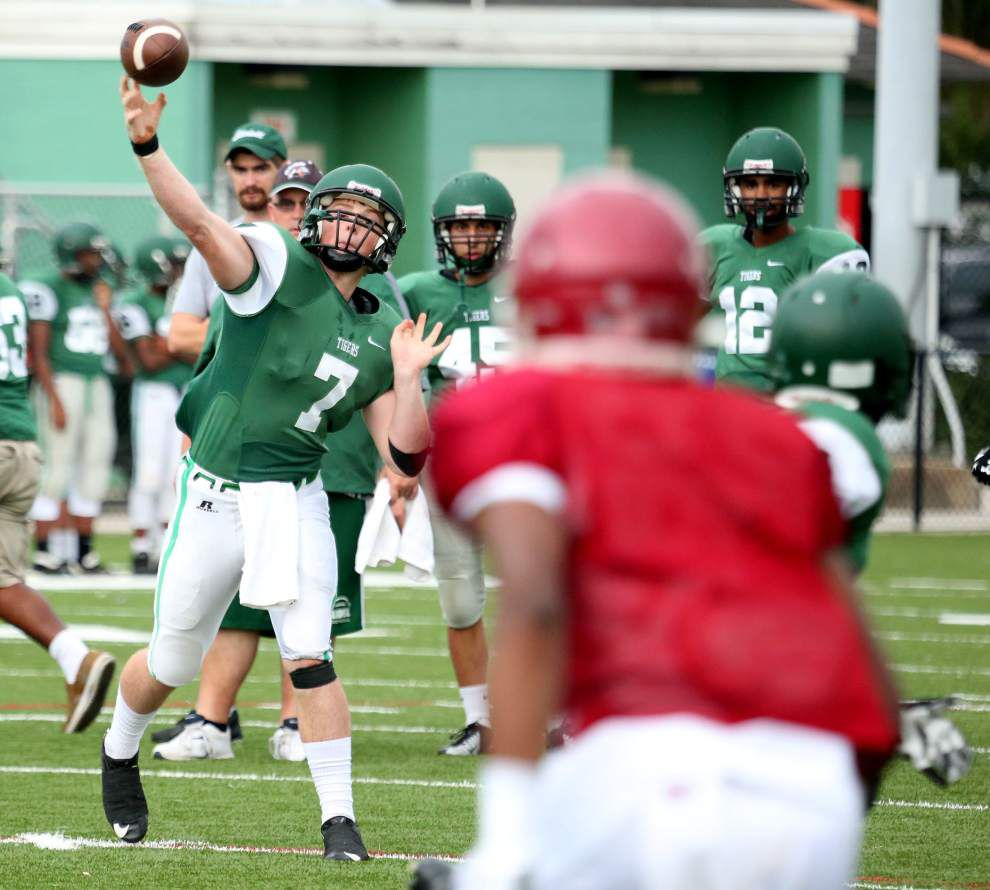 Brother Martin impressive in spring game against Slidell _lowres
