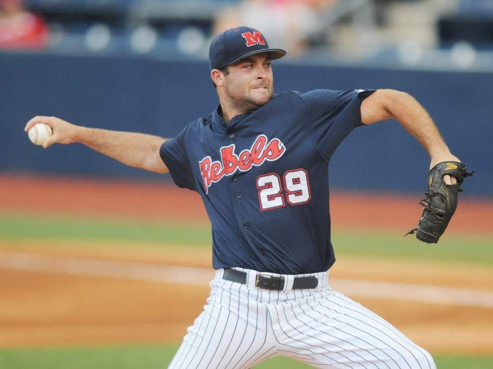 Monday's UL-Lafayette, Ole Miss pitching matchup _lowres