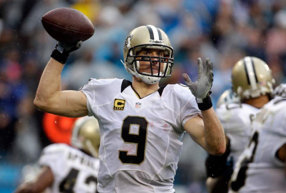 Saints' Brees participates fully in Thursday's practice _lowres