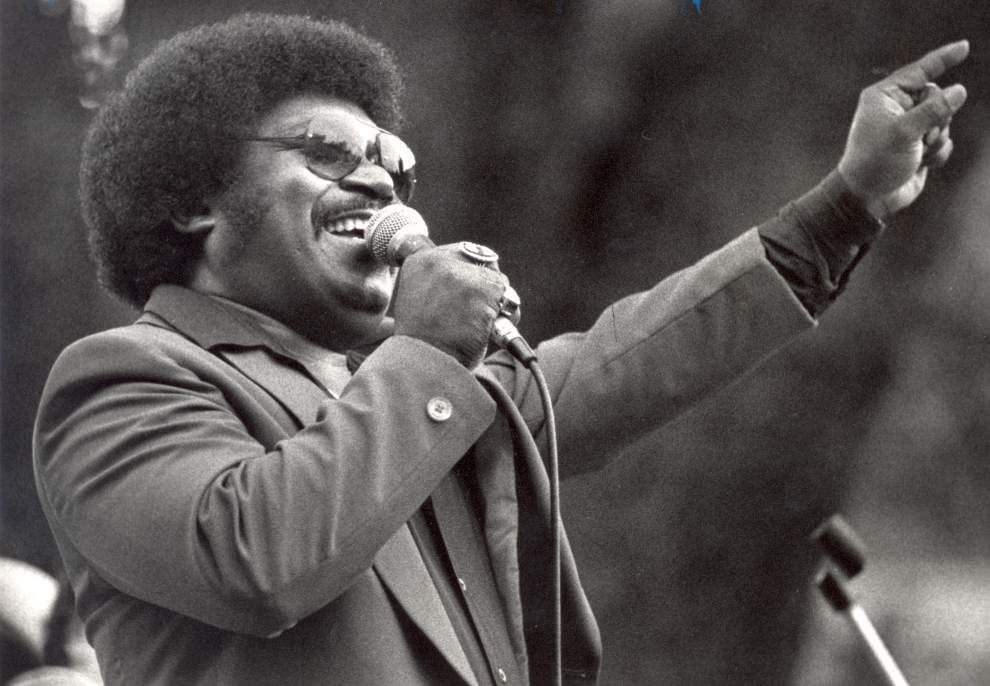 Live video: Watch Percy Sledge's funeral services from Baker church _lowres