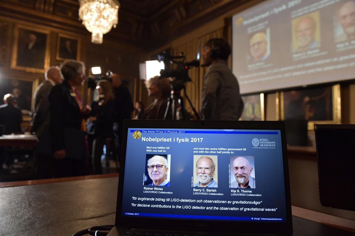 Sweden Nobel 2017 Physics