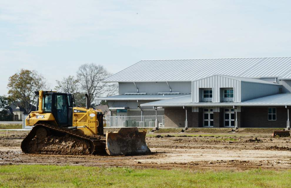 Youngsville Sports Complex's $4 million recreation center slated to open in February _lowres