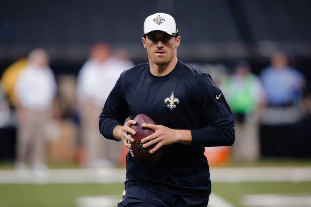 Video: The return of quarterback Drew Brees highlights Saints' game at Indianapolis _lowres