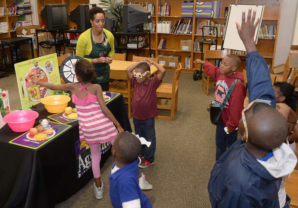 Breaking the links to obesity: Parents get lesson in healthy eating for their kids' sake _lowres