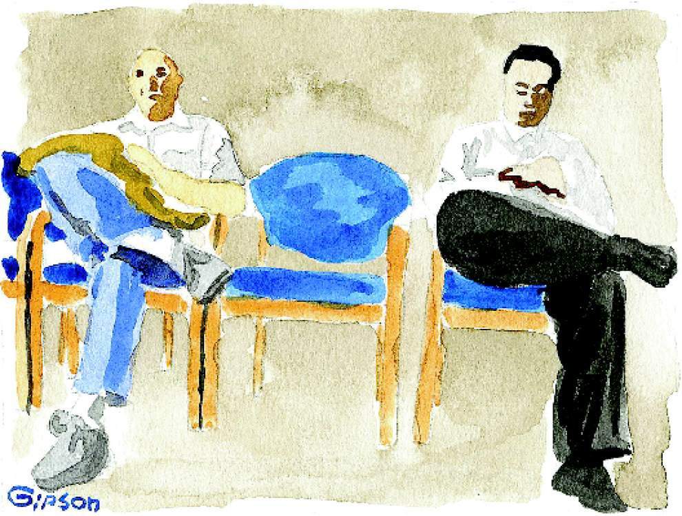 Waiting room the great equalizer, brings people together _lowres