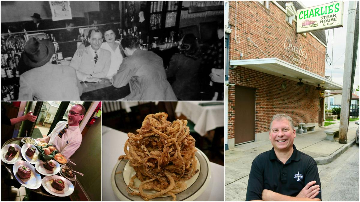 Charlie S Steak House In Uptown New Orleans Was Founded By And Naomi Petrossi Top Left Reopened Post Katrina Matthew Dwyer Right Is