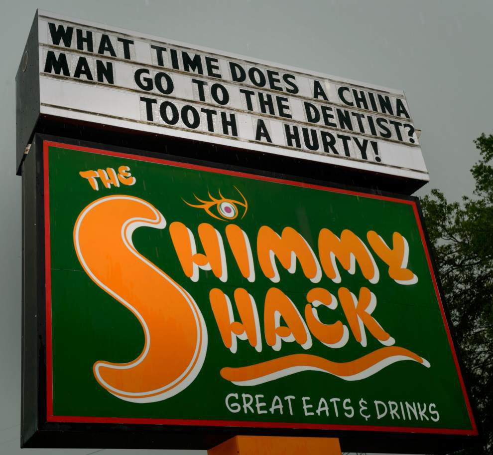 Harahan restaurant's racial 'joke' on outdoor sign no laughing matter to many Asian-Americans _lowres