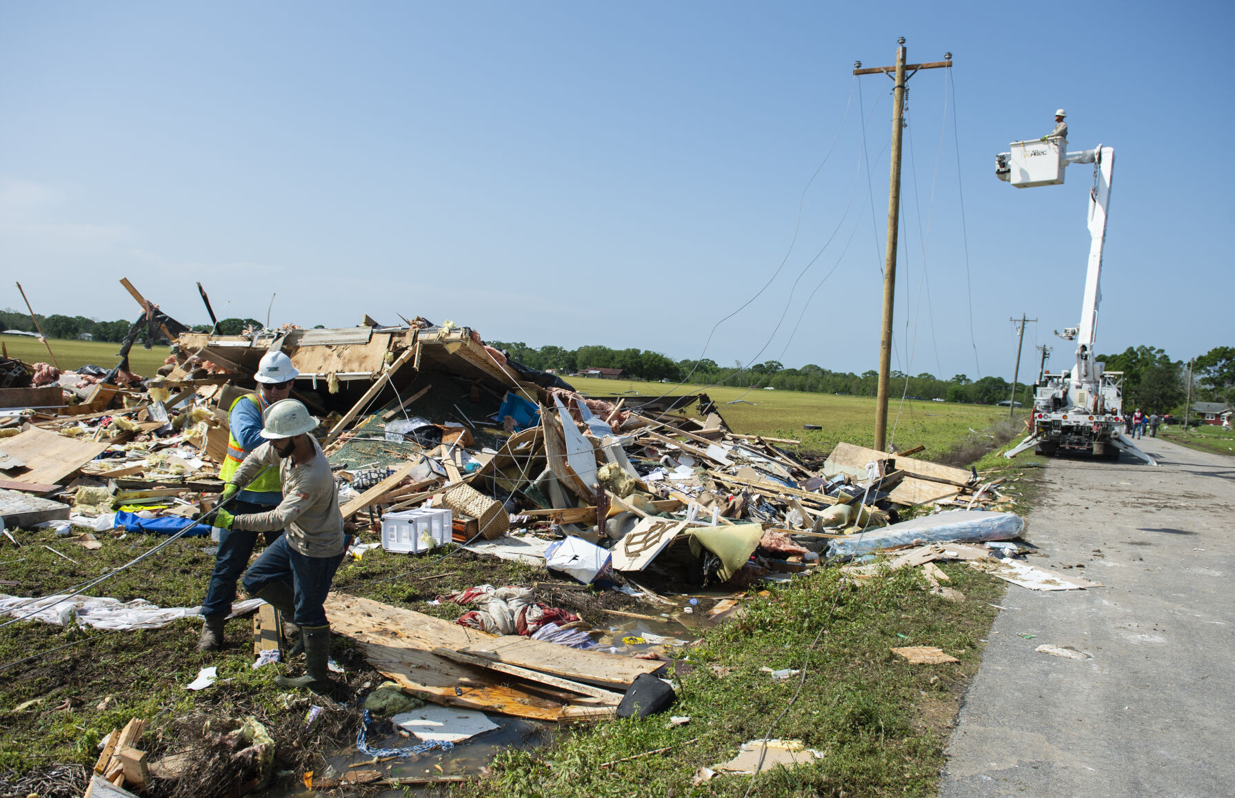 Community fund opened to support families devastated by Palmetto tornado; here's how to help