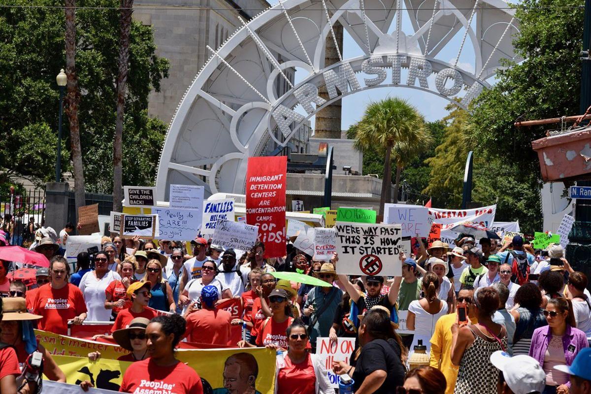 June 30 immigration protest