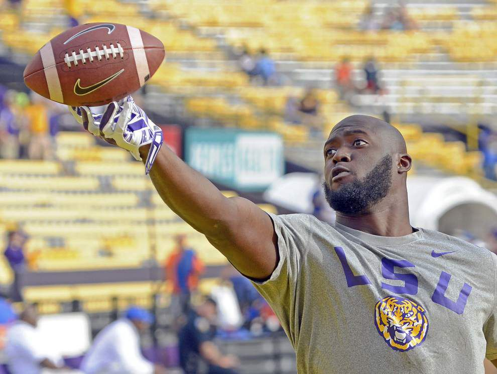 Catching Up With No. 7: Leonard Fournette's going trick-or-treating; last week with braces? why he said 'no' to Alabama _lowres