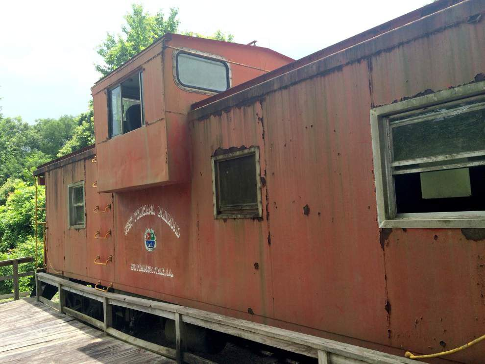 St. Francisville explores options to repair caboose _lowres