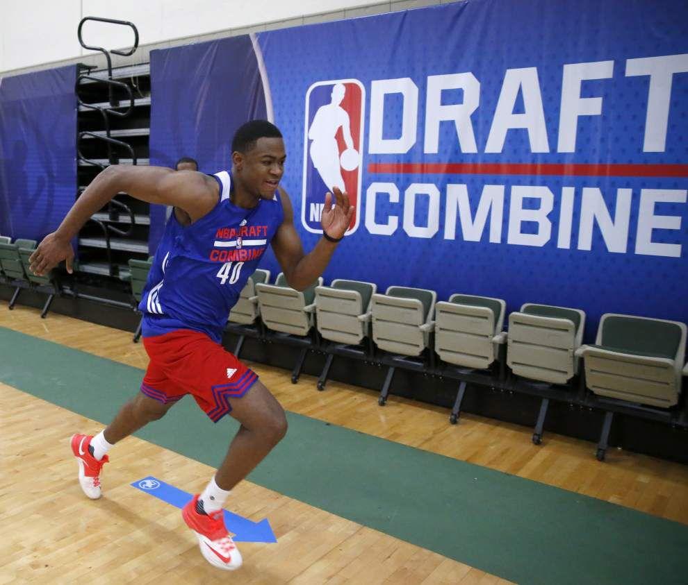 LSU's Jarell Martin, Jordan Mickey auditioning for NBA teams _lowres