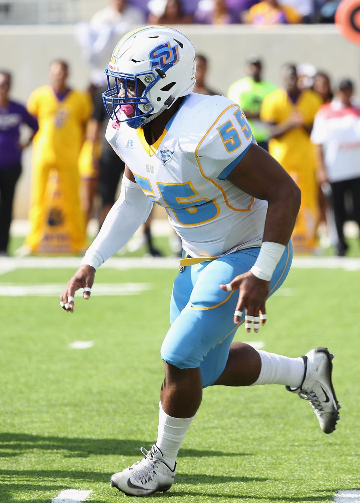 39 Strap It Up Or Quit Playing 39 Senior Lb Kentavious Preston Leads Defense In Tackles While In