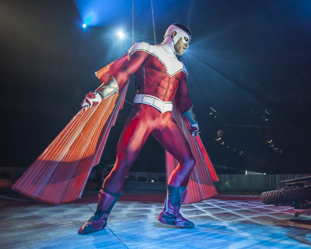 Fantasy heroes leap to life in action-packed stage show _lowres