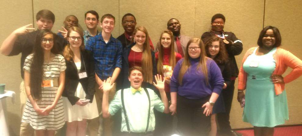 Zachary French Club attends convention _lowres