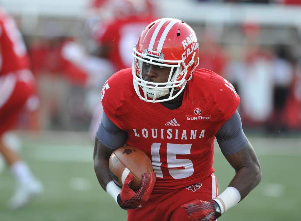 UL-Lafayette star running back Elijah McGuire joining basketball team for remainder of season _lowres