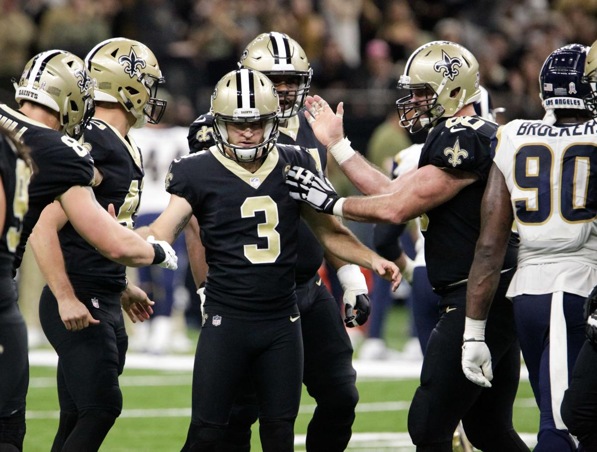 Saints kicker Wil Lutz providing accuracy e438b562c