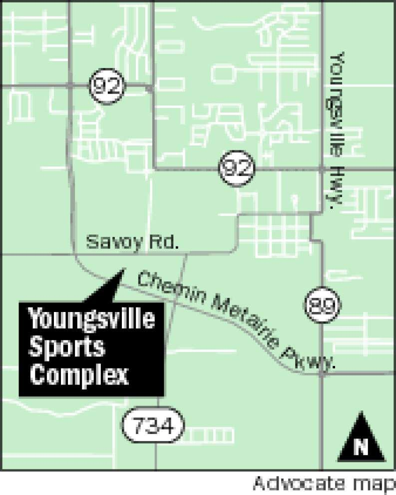 Youngsville sports complex hosting competition for young baseball players from around country, globe _lowres