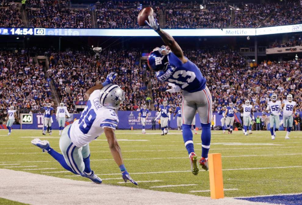 Odell Beckham Jr. revisits stunning grab before Giants-Cowboys game _lowres