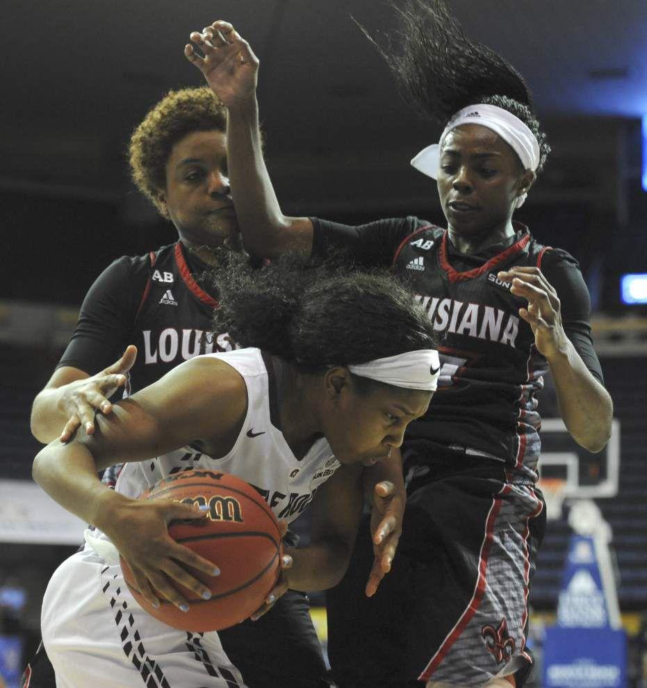 Sun Belt semifinals road bump dings Ragin' Cajuns women again in 63-52 loss to Little Rock _lowres