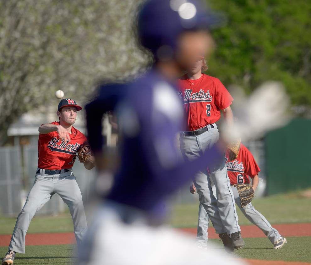 Karr runs past St. Martin's for baseball win _lowres