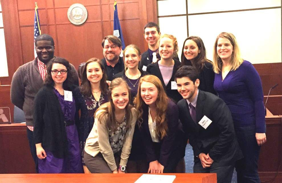 Team to compete in national Mock Trial tourney _lowres