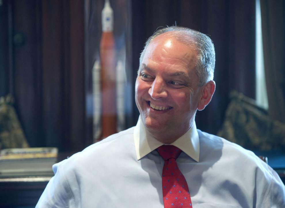 'Right versus wrong, not right versus left': Governor John Bel Edwards stumps for Medicaid sign-up in New Orleans _lowres