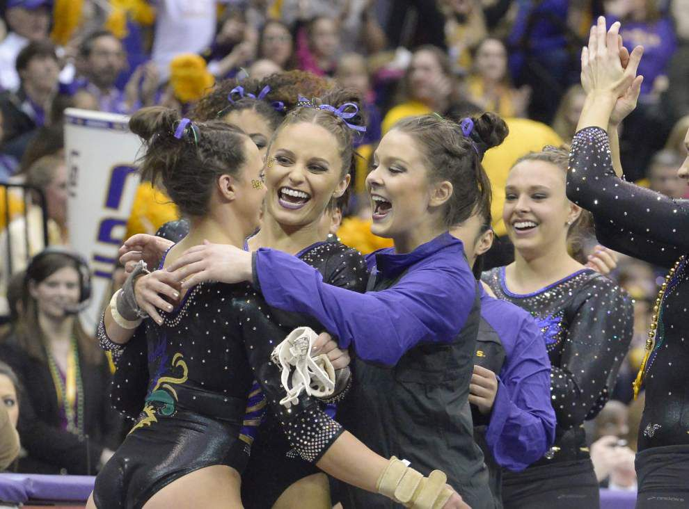 Rested Tigers gymnasts back at work _lowres