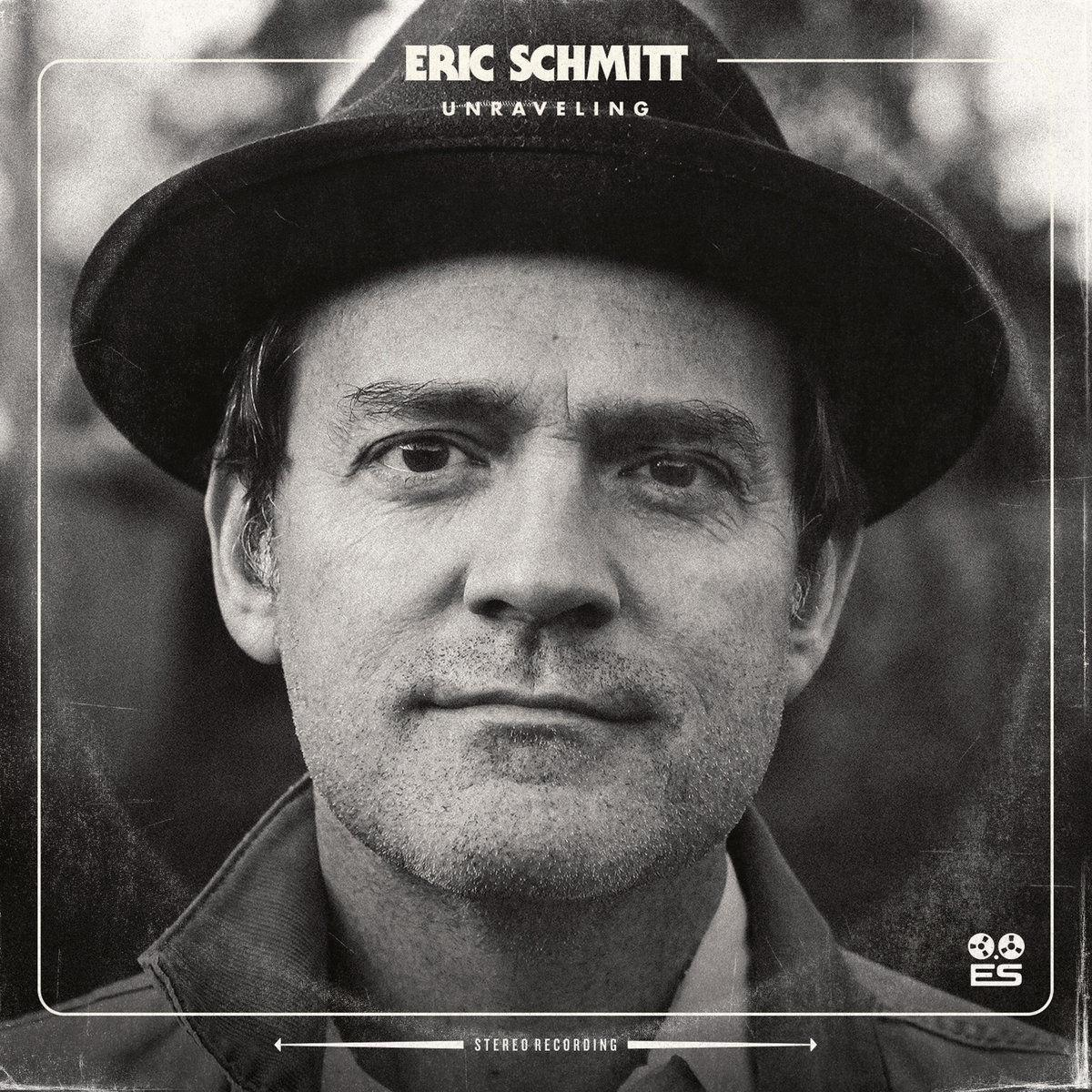 Eric Schmitt 'Unraveling' album cover for Red