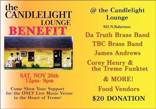 Candlelight Lounge fundraiser happening today_lowres