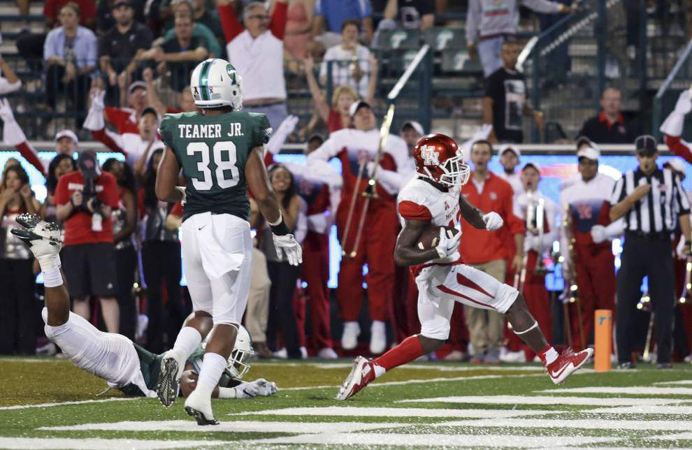 Houston 42, Tulane 7: Guerry Smith's three and out _lowres
