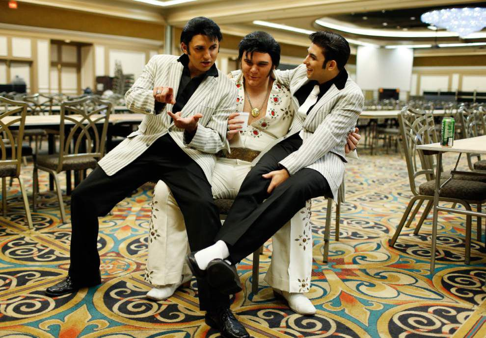 At Elvis Fest, impersonations are reverent tribute _lowres