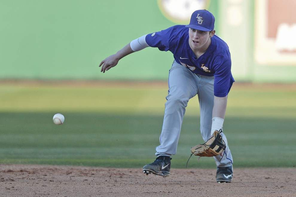 LSU baseball coach Paul Mainieri hoping Conner Hale solves third-base problems _lowres