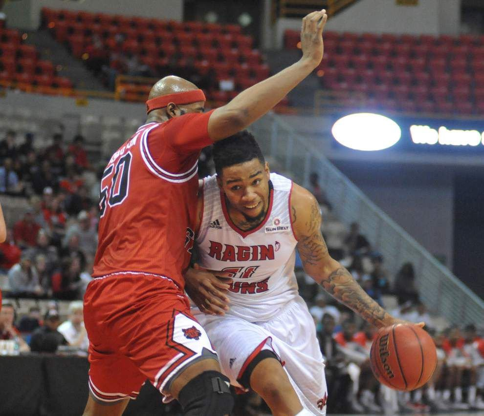 Hayward Register's two key 3-pointers key Cajuns past Arkansas State _lowres