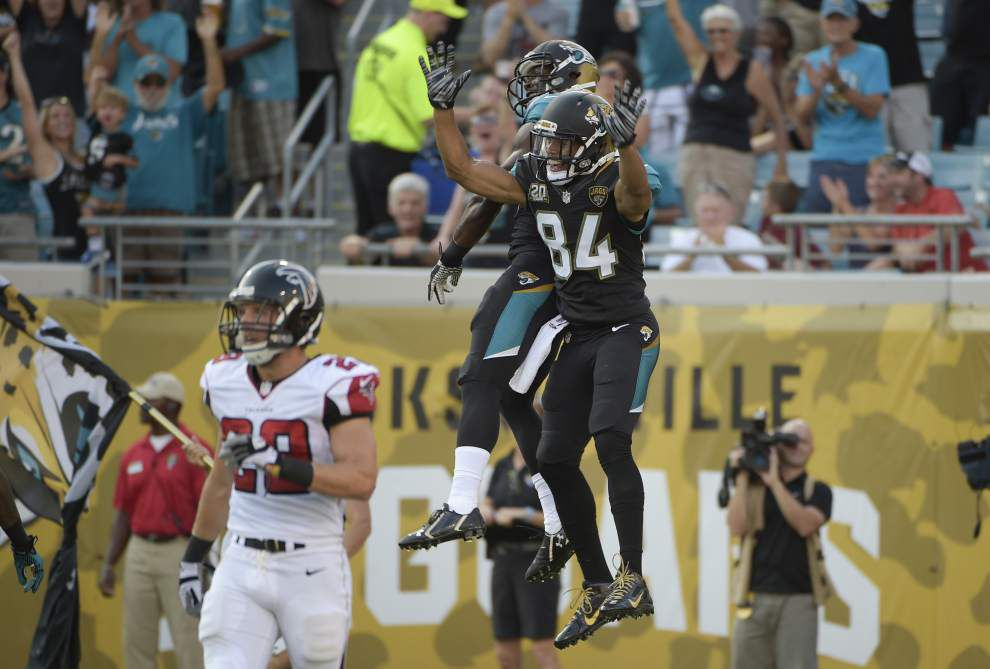 Jaguars rule out WR Cecil Shorts for opener at Eagles _lowres