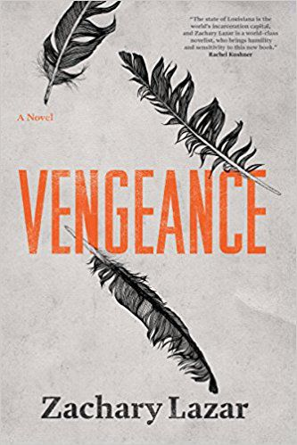 Vengeance by Zachary Lazar book cover