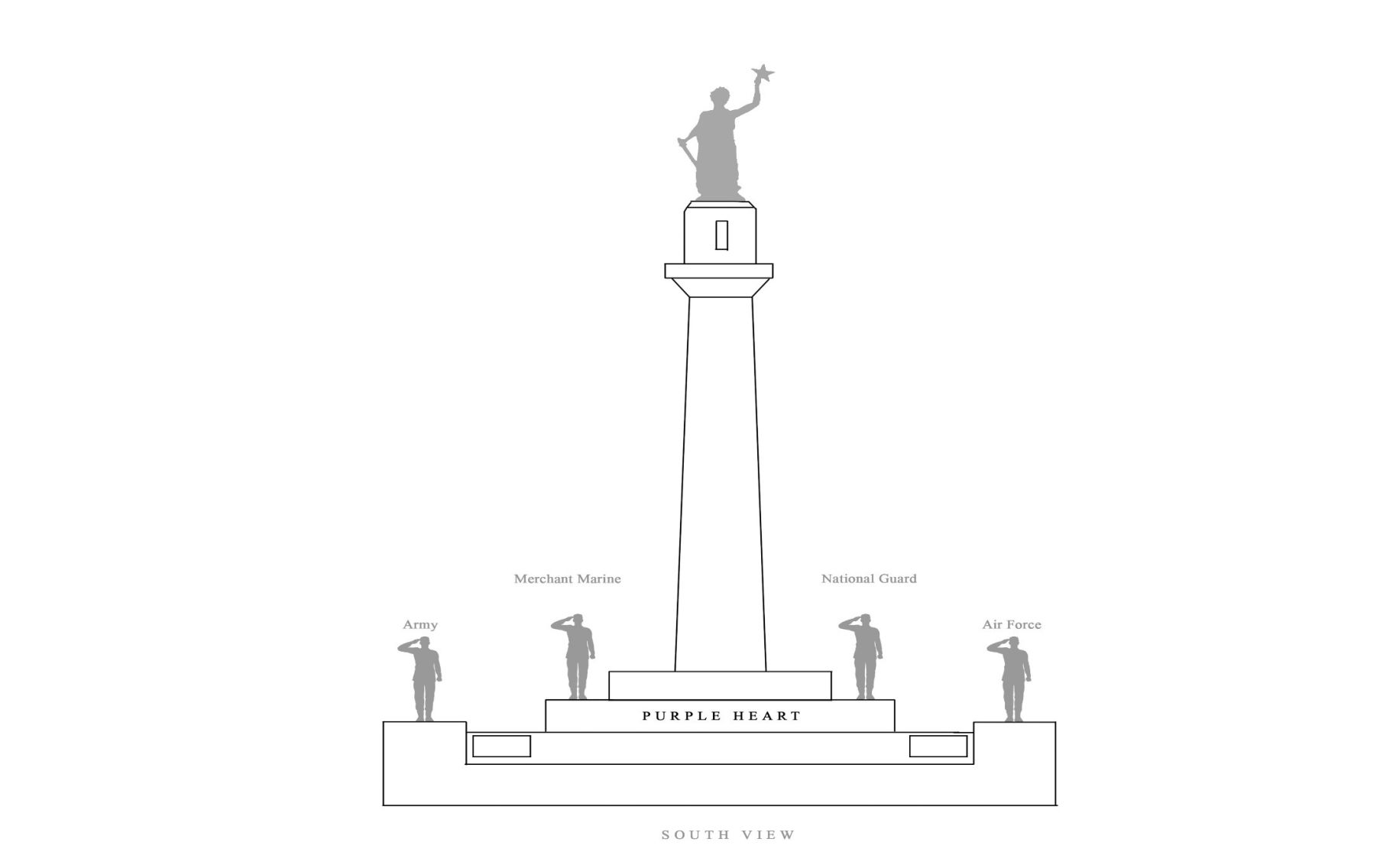 Monument supporters have a plan for Lee Circle, including